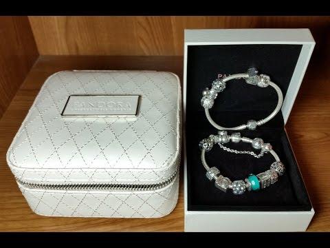 bcf699e6f13f Mi Pulsera Pandora original con charms,clips y cadena de seguridad. Joyero  de regalo