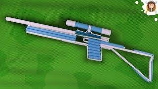 Como fazer uma Arma de Papel - (Sniper Rifle)