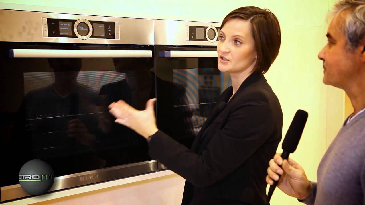 le four s rie 8 de bosch de la haute cuisson youtube. Black Bedroom Furniture Sets. Home Design Ideas