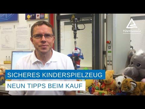 TÜV Rheinland: Spielzeug mit allen Sinnen kaufen / Verarbeitung lässt sich kontrollieren / Auf Warnhinweise und unabhängige Prüfzeichen achten / Altersgerecht kaufen