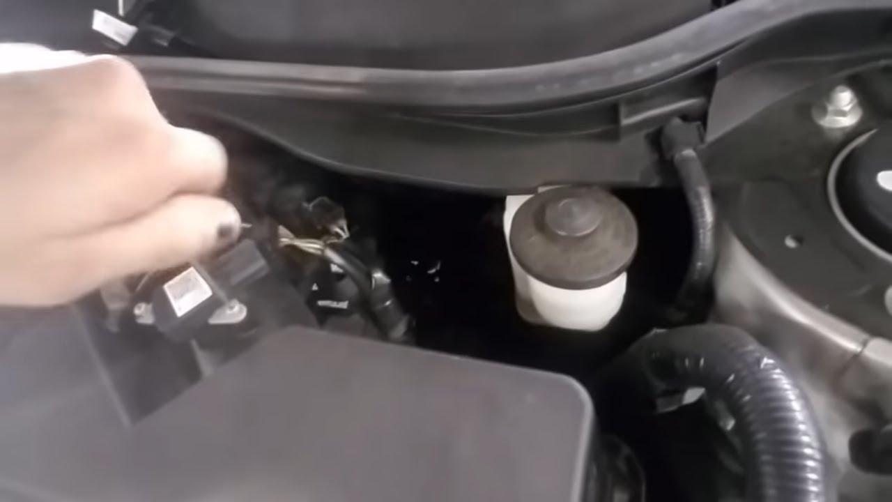 Fixing Toyota Camry Cel Replace Maf Sensor Youtube