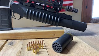 How To Shoot Eighteen .22LR Rounds At One Time