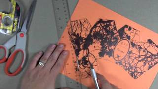 How To Make A Halloween Favor Box