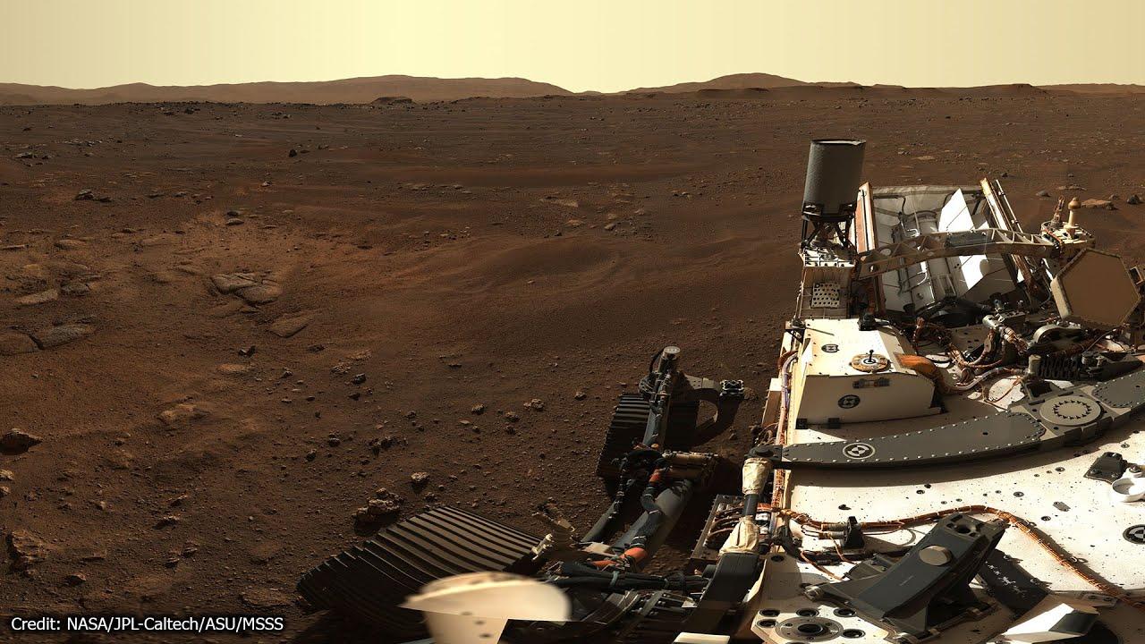 So detailreich haben wir den Mars noch nie gesehen - Rover Perseverance Mast-Cam 427 Millionen Pixel