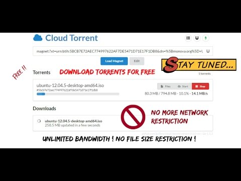 How to download torrents in cloud storage