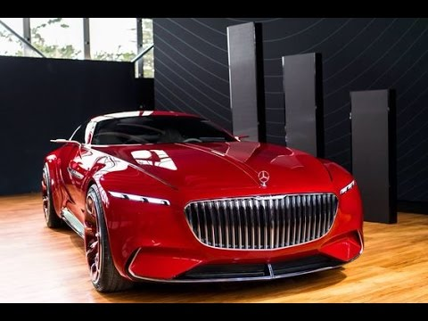 2017 amazing new car 2017 mercedes maybach 6 concept for Mercedes benz new cars 2017