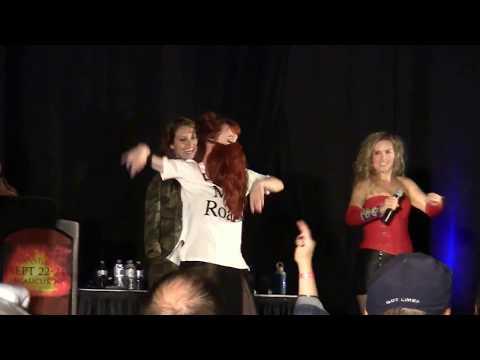 Ruth Dancing to No Diggity SpnNj Karaoke 2017
