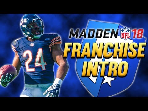Madden 18 Bears Franchise Ep.1 - Welcome to Chicago (Team Intro & Week 1 Preview)