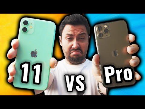 Le Problème De L'iPhone 11 Pro VS IPhone 11 !