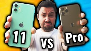The problem of the iPhone 11 Pro VS iPhone 11!