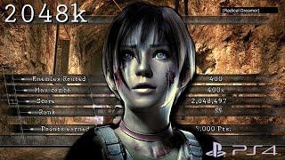 Resident Evil 5 PS4 NO MERCY 2048k Prison Rebecca STARS FULL COMBO 60fps