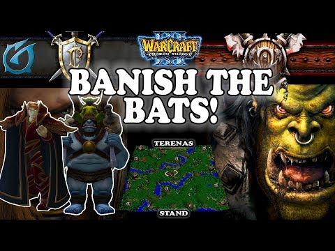 Grubby   Warcraft 3 TFT   1.30   HU v ORC on Terenas Stand - Banish the Bats!