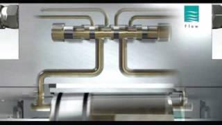 Гидроабразивная резка Flow.mpg