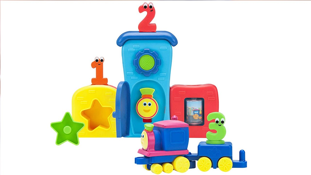 Bob The Train Toys   Kids Learning Video   Toys For Preschoolers   Cartoon Toys   Educational Toys
