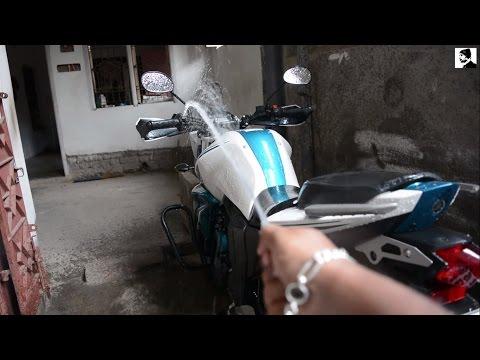 How to wash your bike || Water Wash || Yamaha FZ-S V2.0