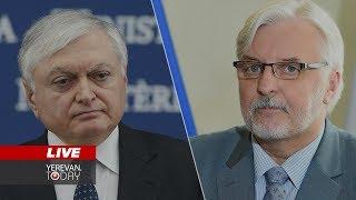 Հայաստանի ԱԺ նախագահը Լեհաստանում էր, Լեհաստանի ԱԳ նախարարը՝ Հայաստանում