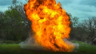 I SHOULD NOT BE DOING THIS (Gasoline Explosions!)
