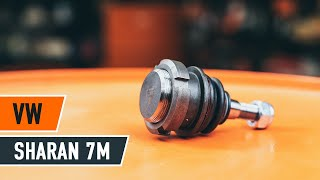 Montáž Čap ramena vlastnými rukami - video příručka na VW SHARAN