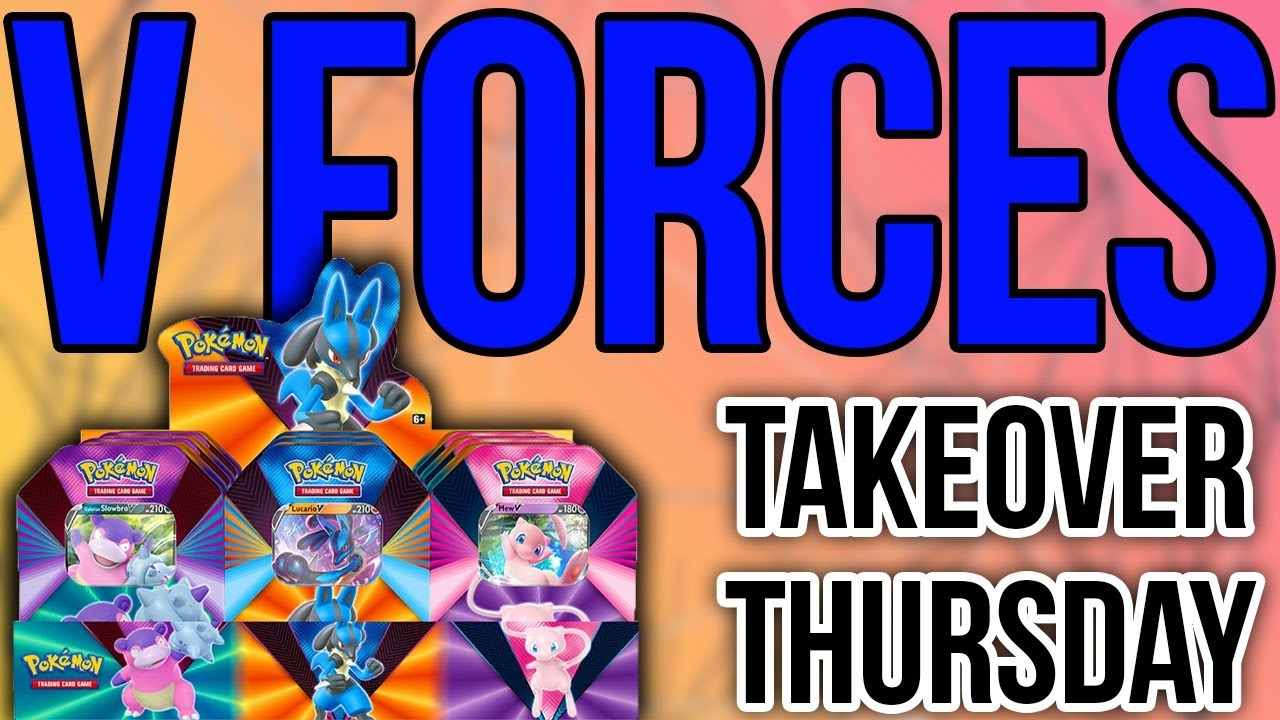 V FORCES TINS - A Takeover Thursday Opening