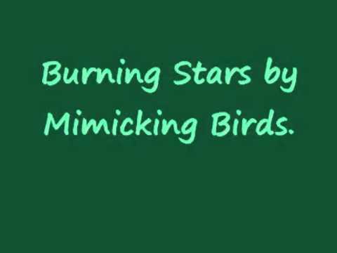 Mimicking Birds - Burning Stars (with lyrics)