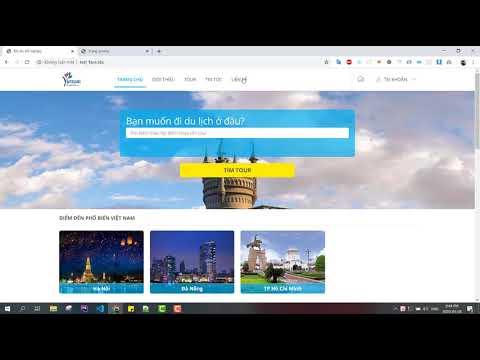 Giới thiệu đồ án website quản lý tour du lịch code thuần php mysql 2020