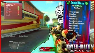 TROLLING and RAGING a KIKOO WITH MOD MENU BO2! - (1v1 Sniper)
