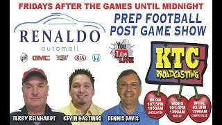 Renaldo Auto Mall Prep POST game Show - 9/21/18