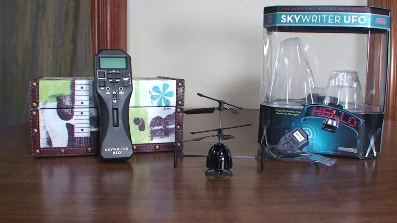 Propel Rc Skywriter Ufo Review And Flight Youtube