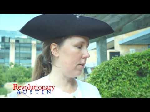 Revolutionary #5: Debbie Russell as Deborah Sampson