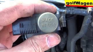 VW Golf 5 P2425 replacement EGR vacuum solenoid control valve 1K0 906 283A