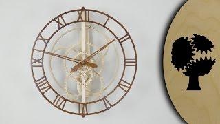 Magica - Wooden Clock (Holzuhr)