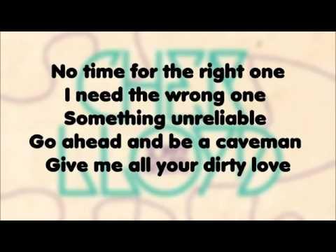 Cher Lloyd - Dirty Love (LYRICS)