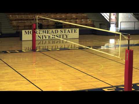 Facility Tour -- Volleyball