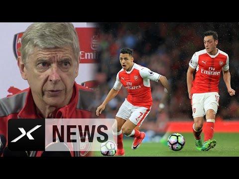 "Arsene Wenger: ""Mesut Özil und Alexis Sanchez wollen bleiben"" | FC Arsenal | Premier League"