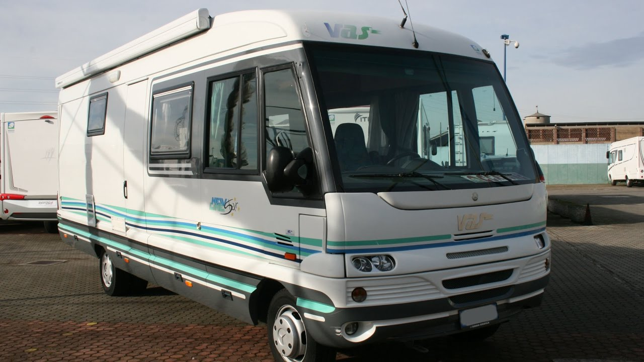 Vas new line 740 motorhome usato youtube for Motorhome vas usati