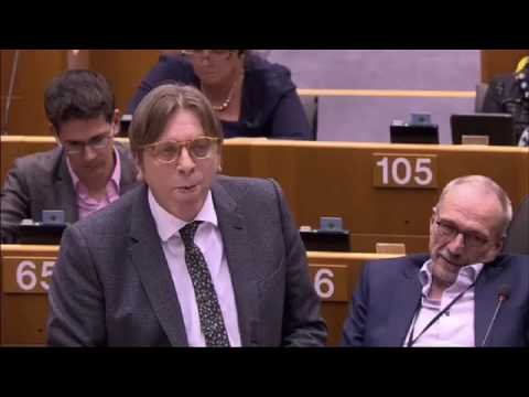 Guy Verhofstadt 1 Mar 2017 plenary speech on White Paper on the future of the EU