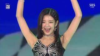 [FullHD] ITZY(있지) - 'TT(TWICE Cover) + ICY + DALLA DALLA'| 2019 SBS 가요대전/SBS 2019 Gayo Daejeon