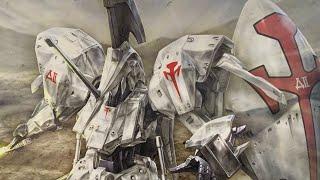 タチコマ以来のWAVEのキット!  MORTAR HEADD  L.E.D.MIRAGE 1/144 モーターヘッド レッドミラージュ 開封レビュー、果たしておっさんに作れるのか?!