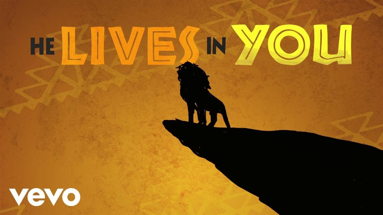 Michael Ball Alfie Boe He Lives In You From The Lion King Lyric Video Youtube