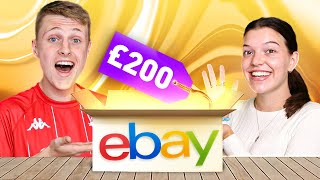 Unboxing a £200 EBAY Football Shirts Mystery Box! - Great Pulls?!