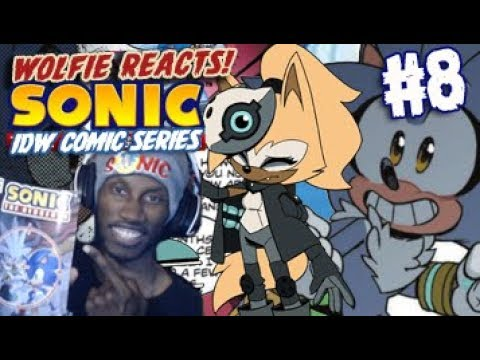 Wolfie Reviews Idw Sonic The Hedgehog 8 Whisper The Wolf Silver Returns Youtube