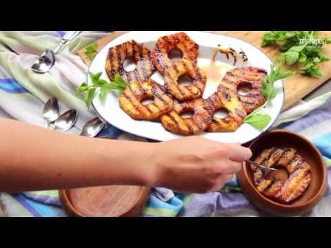 Rezept: Gegrillte Ananas