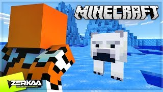 Finding POLAR BEARS In Minecraft For The First Time! (Minecraft #34)