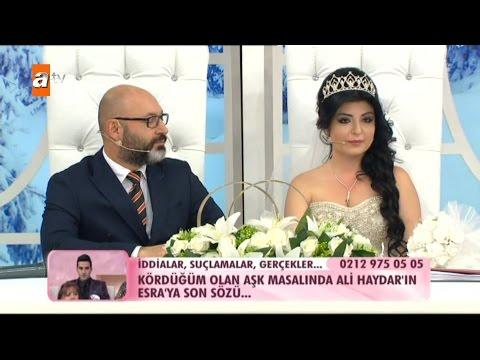Mikail Ile Mehtap Nikah Masasına Oturuyor - Esra Erol