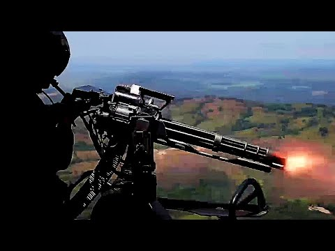 MARINES – LIVE FIRE! Gatling GUNS & ROCKETS firing from ...