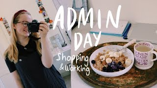 University Admin Day & Shop With Me