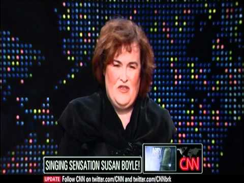 "(HD) Susan Boyle ~ Interview and ""O Holy Night"" ~ Larry King Live (17 Dec 10)"