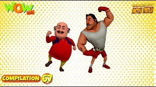 Motu Patlu - Non stop 3 episodes | 3D Animation for kids - #67
