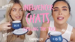 WHY INFLUENCERS DON'T TALK ABOUT MONEY   Sophia and Cinzia