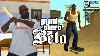 GTA San Andreas Beta Missions and Removed Features